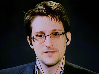 File photo of Edward Snowden. Reuters