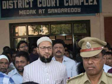 Asaduddin Owaisi in a file photo. PTI