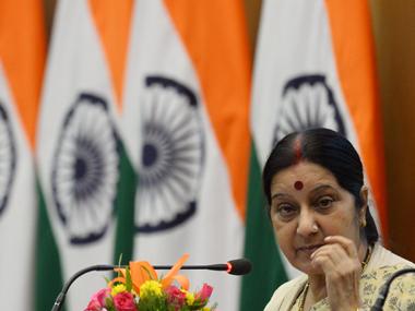 Sushma Swaraj/ AFP