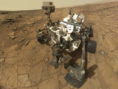 A file image of Curiosity Rover on Mars. News18