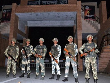File image of Attari border. PTI