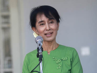 A file image of Aung San Suu Kyi. Reuters