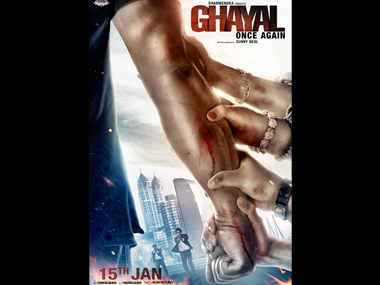 Ghayal Once Again teaser poster