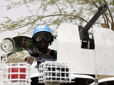 File image of UN Peacekeeping Force. AFP