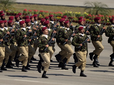 File image of Pakistani Army. AFP