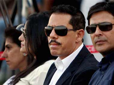 Rober Vadra in a file photo. PTI