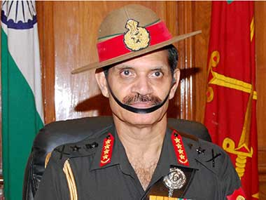 File image of General Dalbir Singh Suhag. PTI