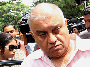 Peter Mukerjea in a file photo. Ibnlive