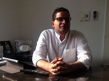File image of Prashant Kishor. Image courtesy: Twitter