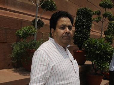 Rajeev Shukla. Getty Images