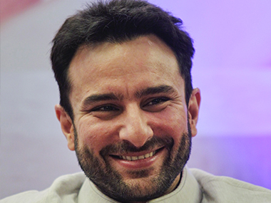 Saif Ali Khan. Reuters