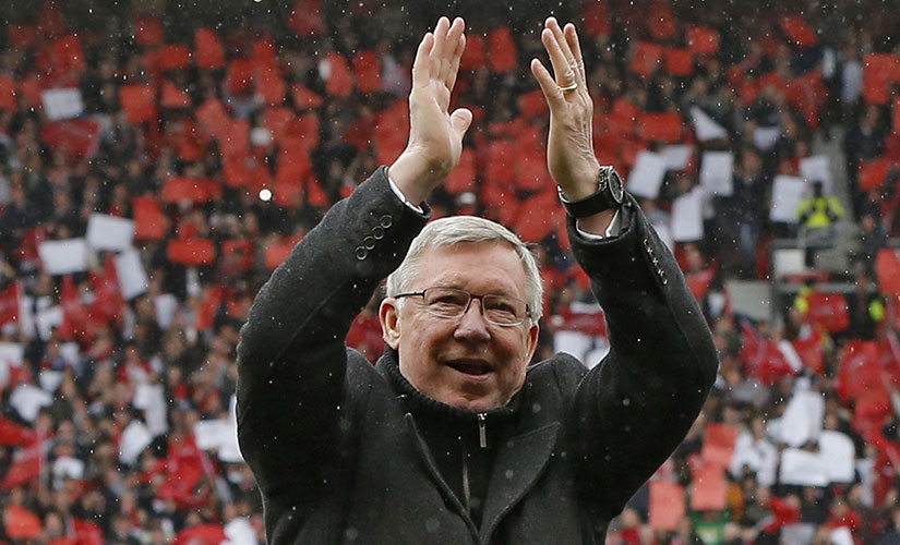 The speech that Sir Alex Ferguson on the last day at Old Trafford is stuff of legends. Reuters