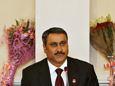 Anbumani Ramadoss. File photo. AFP