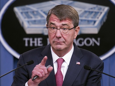 Defense Secretary Ash Carter. AP
