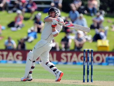 File photo of New Zealand skipper Brendon McCullum. AP