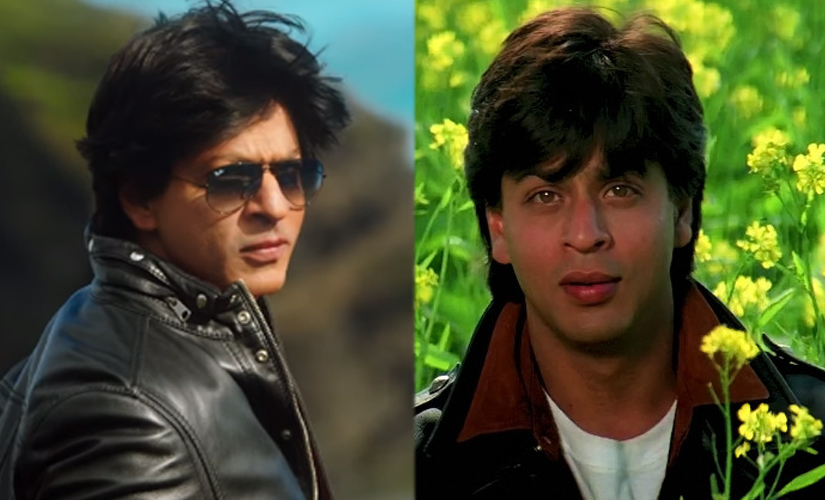 SRk from Dilwale Dulhania Le Jayenge to Dilwale. Screengrab