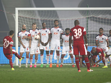 File photo of NorthEast United FC. SPORTZPICS