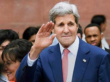 US Secretary Of State John Kerry. File image. PTI