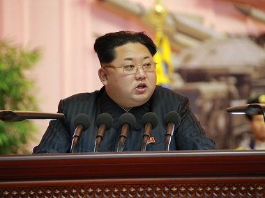 North Korean leader Kim Jong-Un. File image AFP PHOTO / KCNA VIA KNS