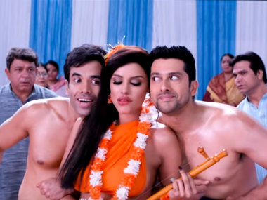 A scene from the Kyaa Kool Hain Hum 3 trailer.