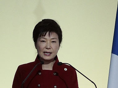 South Korean President Park Geun-hye in a file photo. AFP