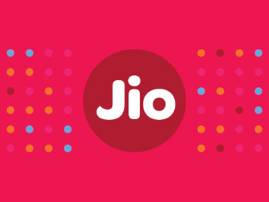 The new Reliance Jio logo.