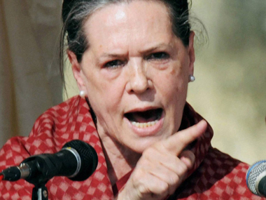 File photo of Congress President Sonia Gandhi. PTI