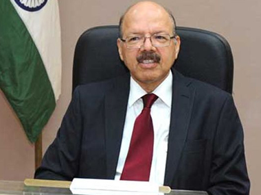 File image of Nasim Zaidi. PTI