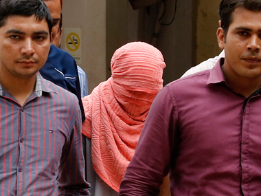 File image of the juvenile convict of the 2012 Delhi gangrape case. Reuters