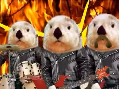 Badgers? Beavers? Find out more in Soupy George. Screen grab from YouTube