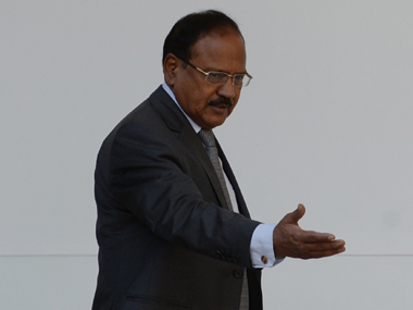 National Security Adviser Ajit Doval. AFP