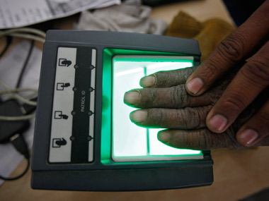 Registration for Aadhaar. File photo. Reuters