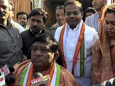 Ajit Jogi. File photo. PTI