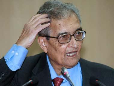 Amartya Sen. AFP