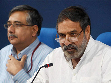 Congress' Anand Sharma criticised Modi government over the Pathankot terror attack. PTI