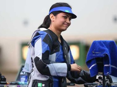 File image of Apurvi Chandela. IBNLive