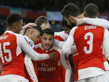 Alexis Sanchez marked his comeback to starting XI with the winner. AP