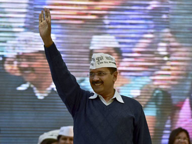 Arvind Kejriwal in a file photo. PTI