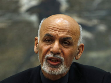 File photo of Ashraf Ghani. Reuters