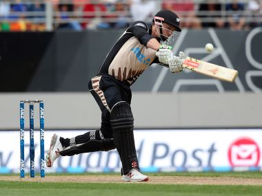 Colin Munro broke Martin Guptill's record for fastest fifty by a Kiwi in T20's. Guptill had set the record 20 minutes before. AFP