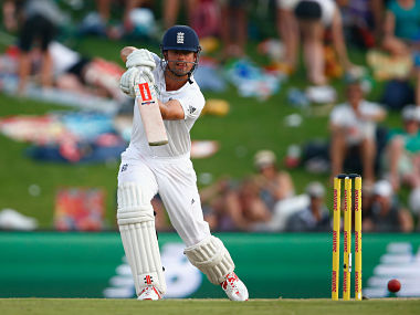 Alastair Cook of England bats during day two of the 4th Test. Getty
