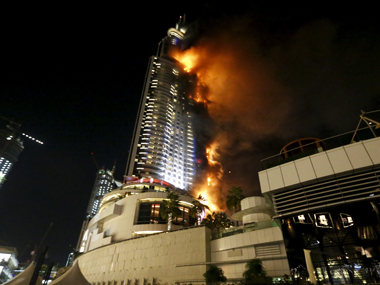The Dubai hotel fire that smoldered into 2016/ Reuters
