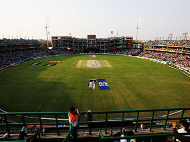 The Feroz Shah Kotla stadium. Getty Images