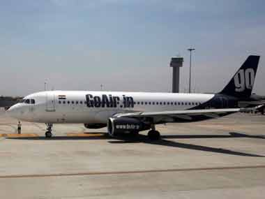 A GoAir aircraft. Reuters