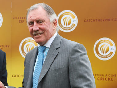 File picture of Ian Chappell. Getty