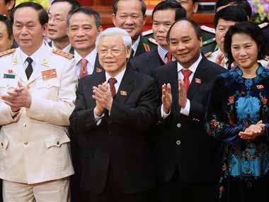 Vietnam's communist party. AP