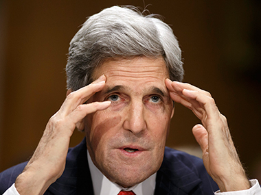 File image of John Kerry. AP
