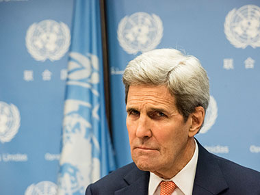John Kerry. Getty Images