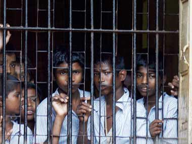 An observation home for juveniles in conflict with law. Representational image. Reuters