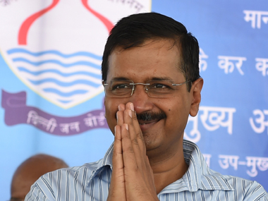 File photo of Delhi CM Kejriwal. AFP